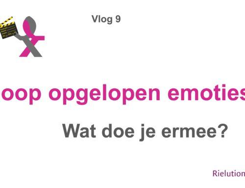 Vlog 9 – Hoop oplopende emoties